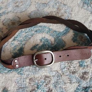 Abercrombie AF Leather Boho Belt Small